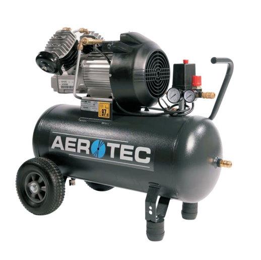 aerotec druckluft kompressor 400 50 kolbenkompressor 50 liter 10 bar ebay. Black Bedroom Furniture Sets. Home Design Ideas