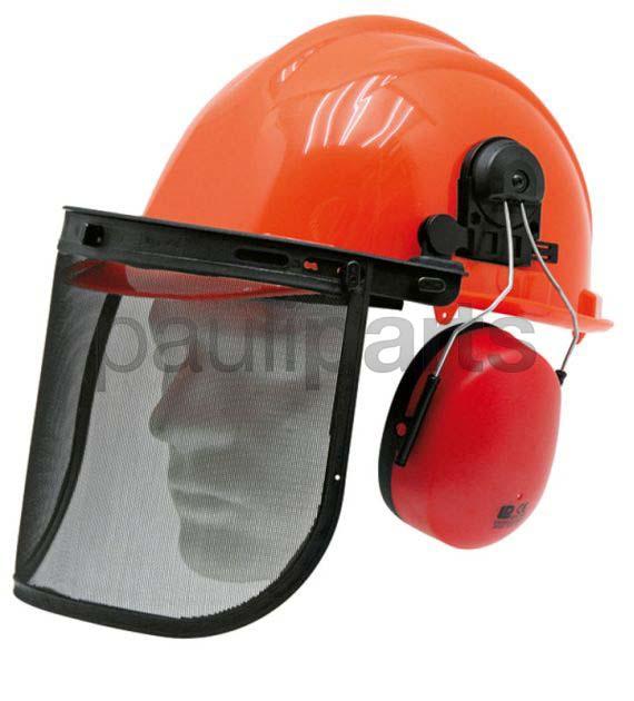 forsthelm kombination schutzhelm helm mit geh rschutz und gesichtsschutz ebay. Black Bedroom Furniture Sets. Home Design Ideas