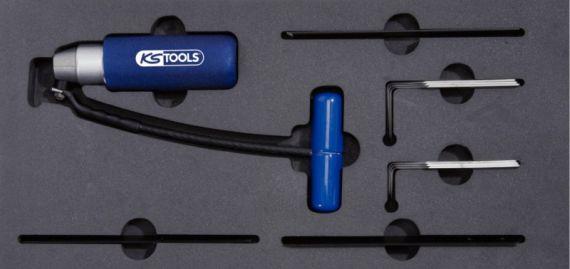 ks tools werkzeugwagen einlage ziehmesser satz mit. Black Bedroom Furniture Sets. Home Design Ideas