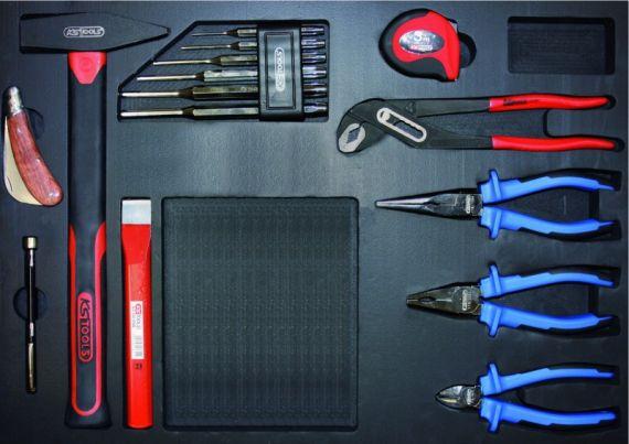 ks tools universal werkzeug satz 15 tlg. Black Bedroom Furniture Sets. Home Design Ideas